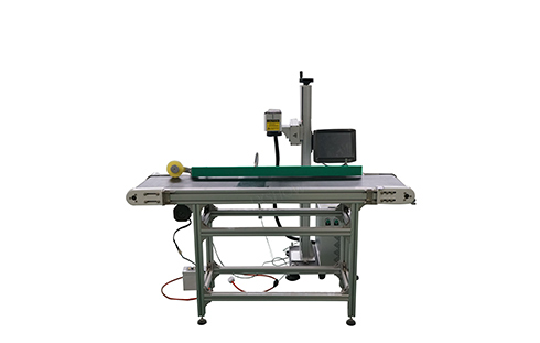 flying fiber laser marking machine