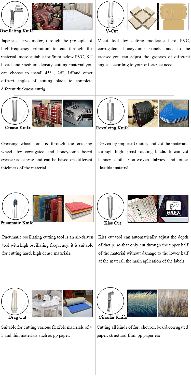 CCD Vibrating Knife CNC