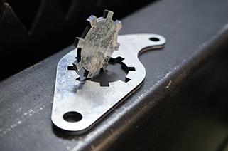 The standard for good cutting effect of fiber laser cutting machine