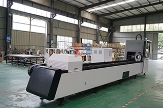 Brief description of fiber laser cutting machine for pipe and tube cutting metal pipe