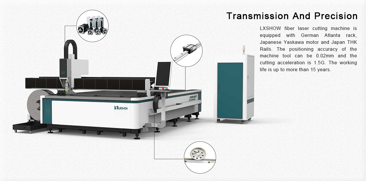 500w 1000w 1500w 2000w sheet metal online for raycus fiber laser cutting machine price steel stainless thickness