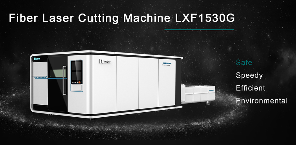 CNC fiber laser 1000w-3000w metal cutting machine for stainless steel metal 4mm in China High speed and good quality  LXF3015G