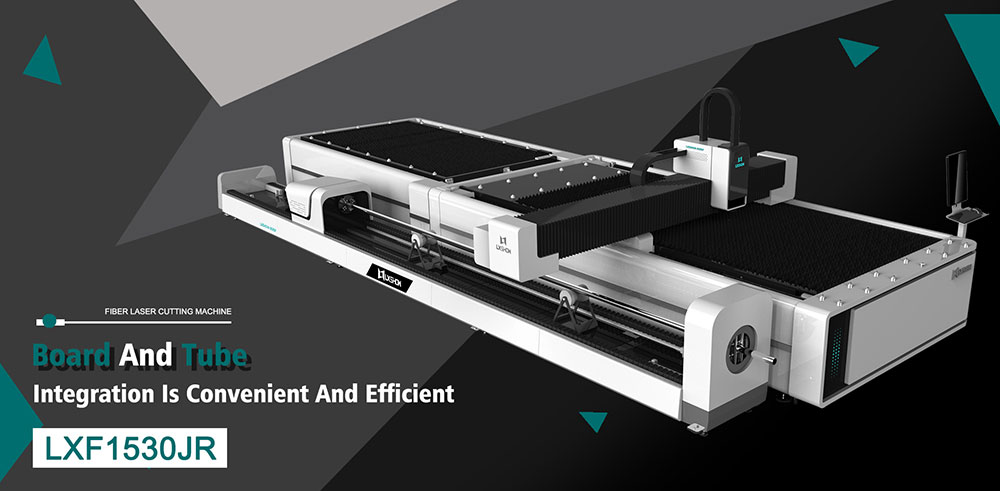 Metal Plate   Round/Square tube Exchange table Fiber laser cutting machine LXF1530JR