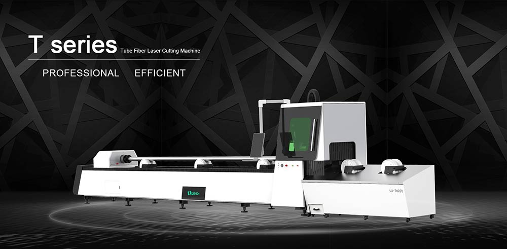 Round and Square Automatic Tube Fiber Laser Cutting Machine LXF6020T