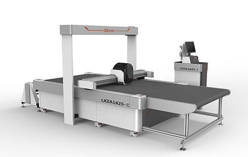 CCD Intelligent vibrating knife cnc machine