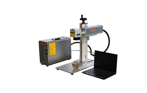 Portable mini fiber laser marking machine