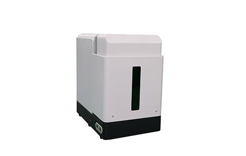 Protective cover mini fiber laser marking machine