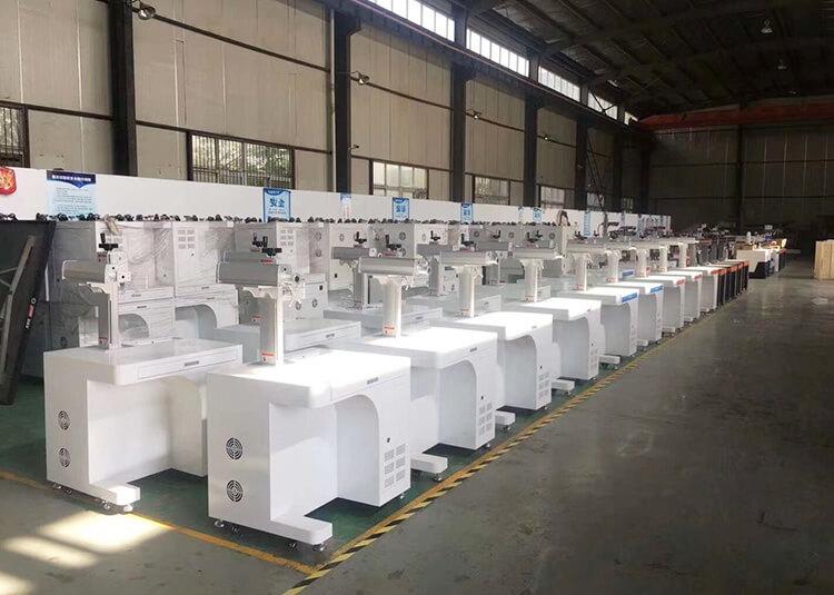 Jinan Lingxiu Laser Equipment Factory Workshop