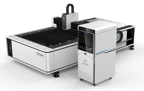 New design fiber optic laser 500w 1kw 1500w 2200w fiber laser cutting machine for metal plate
