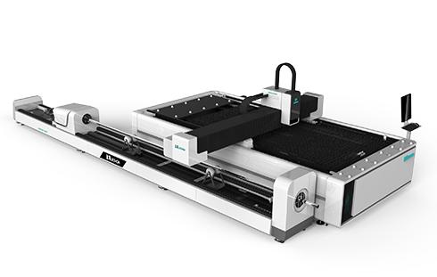 Metal Plate + Round/Square tube Fiber laser cutting machine LXF1530R