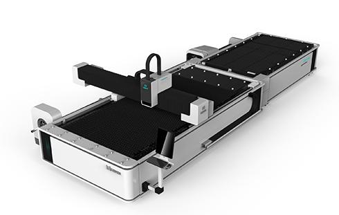 Metal Plate + Round/Square tube Exchange table Fiber laser cutting machine LXF1530JR