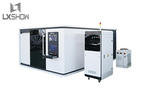 Protective cover / enclosed metal sheet fiber laser cutting machine LXFC1530 1000W 1500W 2200W metal plates fiber laser cutter