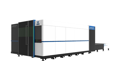 High power 6000w cnc metal sheet fiber laser cutting machine with protective cover LXF1530GH,LXF2040GH,LXF2560GH