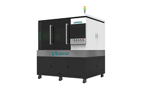 High Precision mini small fiber laser cutting machine LXF6060 with linear motor ball screw transmission 500w 750w 1000w 1500w