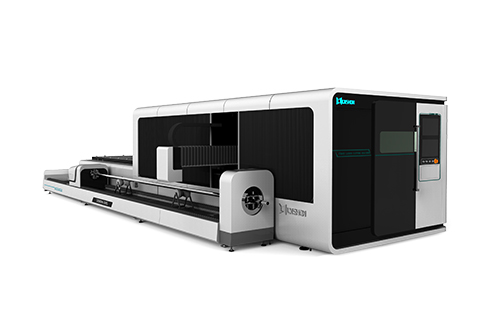 [LXF1530GR]Metal Plate + Round/Square tube Fiber laser cutting machine LXF1530GR Exchange table  Protective cover