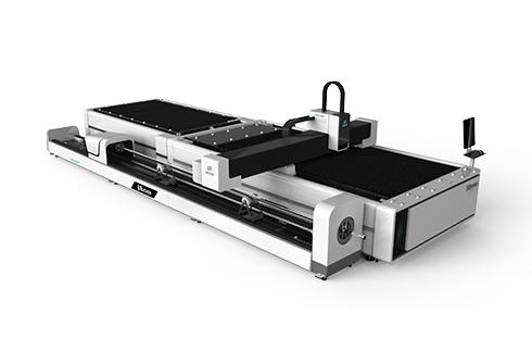 [LXF1530JR]Metal Plate + Round/Square tube Exchange table Fiber laser cutting machine LXF1530JR