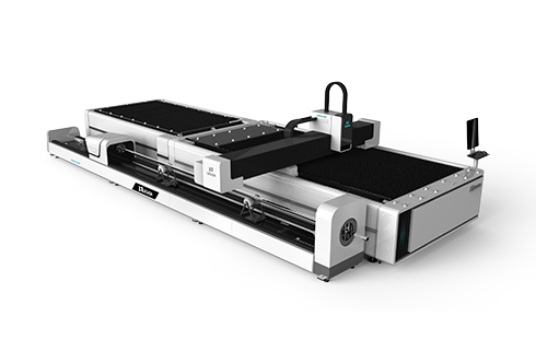 [LXF1530JR]Metal Plate + Round/Square tube Exchange table Fiber laser cutting machine LXF1530JR