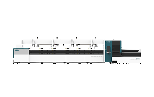 Automatic Loading and Unloading Square tube and circle tube Metal pipe Fiber laser cutting machine 1000 1500 2000 3000 4000 6000 8000 watt