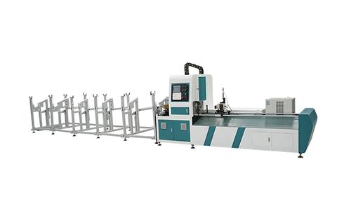 [TJ]Cheapest Simple Tube Pipe metal steel Fiber laser cutting machine 1kw 1.5kw 2kw 3kw 1000w 1500w 2000w 3000w Laser cutter