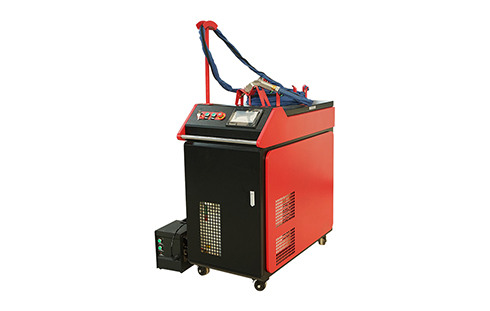 Portable small mini cnc Fiber laser welder welding machine price with laser course 1kw 1.5kw 2kw