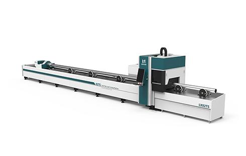 [LX82TS]Round Square tube ss cs aluminum metal pipe tube fiber laser cutter 1KW 1.5KW 2KW 3KW 4KW 6KW 8KW 12KW