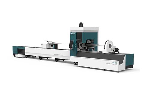 [LX62Ⅲ] Cnc laser pipe cutting machine LX62Ⅲ Three-chuck heavy-duty laser pipe cutting machine