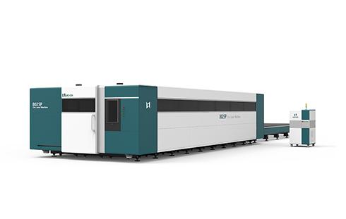 [LX8025P]3000W 4000W 6000W 8000W 10000W 12000W cnc fiber laser cutting machine doubleworkingtable Working width of each workbench 8m